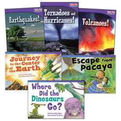 Natural Disasters Books - Set of 6