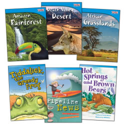 Exploring Biomes Books - Set of 6