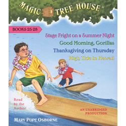 Magic Tree House Read-Along CD Only (25-28)