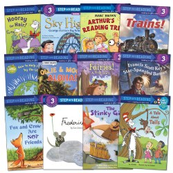 Step Into Reading Book Set - Level 3 - Set of 12