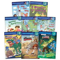 Step Into Reading Book Set - Level 2 (Set of 8)