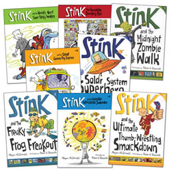 The Adventures of Stink Books - Set of 8