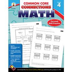 Common Core Connections Math - Grade 4