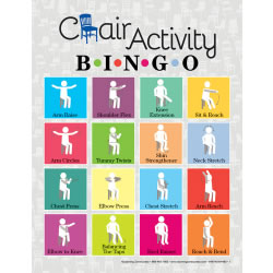 Chair Activity Bingo