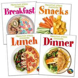 Healthy Food Choices (Set of 4)