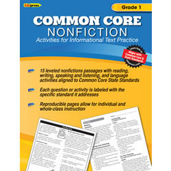 Common Core Nonfiction Books