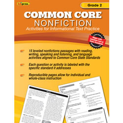 Common Core Nonfiction Book - Grade 2