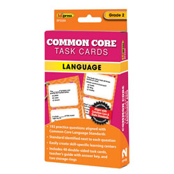 Common Core Language Task Cards