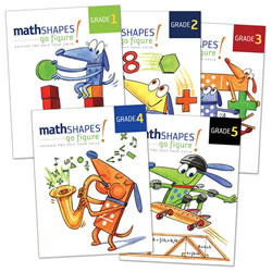 mathSHAPES: go figure! Student Books