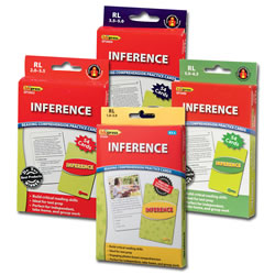 Inference Reading Comprehension Practice Cards