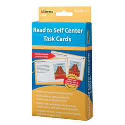 Read To Self Center Task Cards