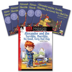 Alexander and the Terrible, Horrrible, No Good, Very Bad Day: Literature Guide and Books