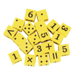 Hands-On Math Dice® (20 Pieces)