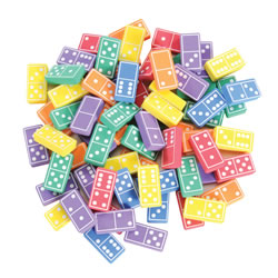 Easyshape Foam Dominoes (168 Pieces)