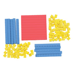 Hands-On Math Base Blocks (111 Pieces)