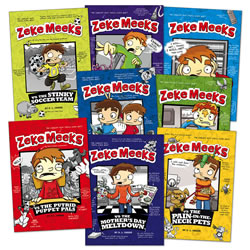 Zeke Meeks Collection (Set of 8) - Paperback