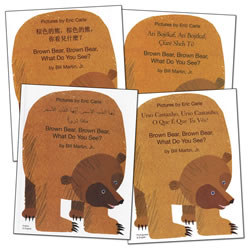 Bilingual Picture Books: Brown Bear, Brown Bear What Do You See? - Paperback