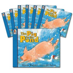 The Pig in the Pong Big Book Read-Along Books - Set of 7
