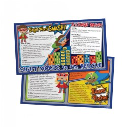 10 Minute Talks:Sight Words Parent Brochure - English (Set of 25)