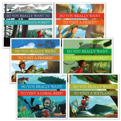 Do You Really Want to Visit Books - Set of 6