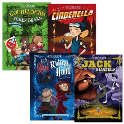 You Choose: Fractured Fairy Tales Book Set (Set of 4)