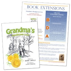 Grandma's Handgrown Love with Book Extensions