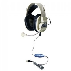 Deluxe USB Headset with Microphone