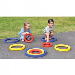 Giant Activity Rings (Set of 9)