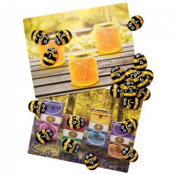 Honey Bee Stones and Activity Cards