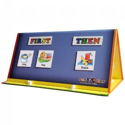 Tri Fold Magnetic Board and Accessories