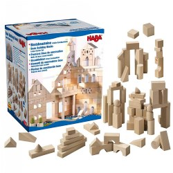 Image of Large Basic Building Blocks Starter Set - 60 Pieces