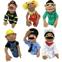 Happy Puppets - Set Of 6