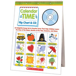 Calendar Time Flip Chart And CD