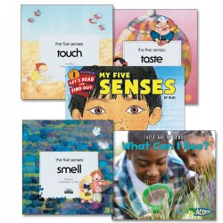 The Five Senses Book Set - Set of 5