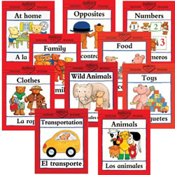 Bilingual Concepts Books