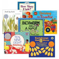 Fun with Math Books - Set of 6