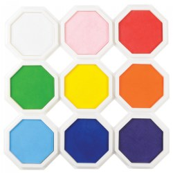 Jumbo Stamp Pads - Set of 9