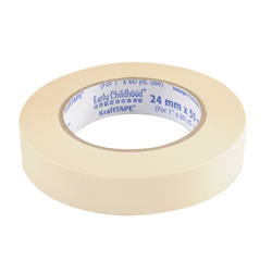 Color Kraft Tape - White