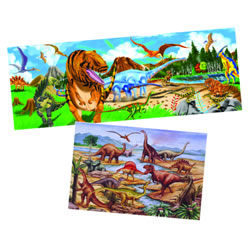 Dinosaur Floor Puzzle Set - Set of 2