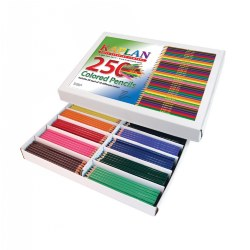 Colored Pencils Class Pack - 250 Per Box
