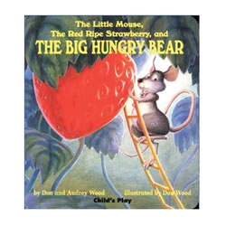 The Little Mouse, the Red Ripe Strawberry, and the Big Hungry Bear - Paperback
