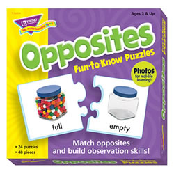Opposites Fun-to-Know® Puzzle