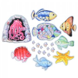 Fishy Tales Felt Set - 19 Pieces