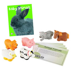 Animal Friends Learning Kit - Bilingual
