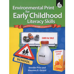 Environmental Print for Early Childhood Literacy Skills - Paperback