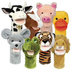 Bigmouth Animal Puppets