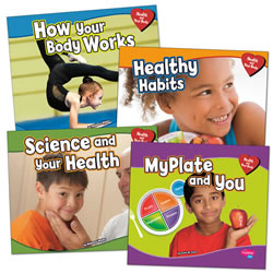 Health and Your Body Book Set (Set of 4)