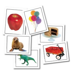 Alphabet Photo Objects Learning Cards (Set of 108)