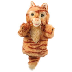 Ginger Cat Hand Puppet