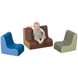 Nature-Toned Toddler Seating